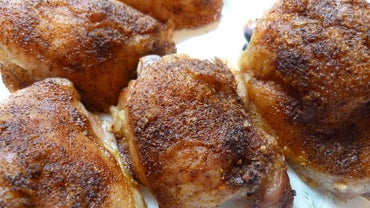 Easy Chicken Thigh Recipes: Basic Oven Roasted Chicken Thighs With Potatoes