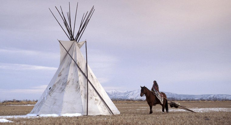 did-plains-indians-live-tepees