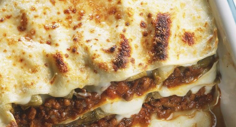 The How Long Do You Bake Lasagna?  Reference.com