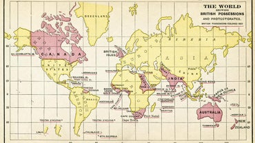 What Were the Countries of the British Empire?