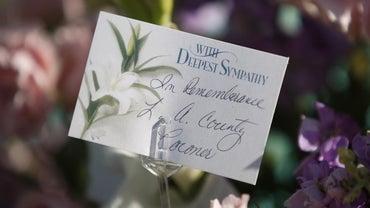 How Do You Address a Sympathy Card Envelope?