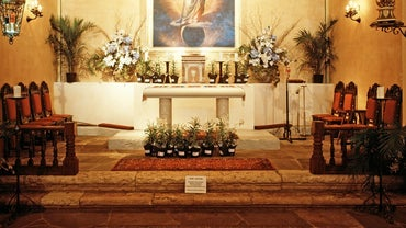 What Is an Altar Used for in a Church?