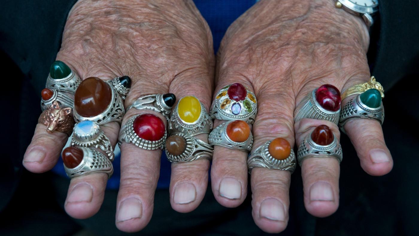 Men Wearing Pinky Rings