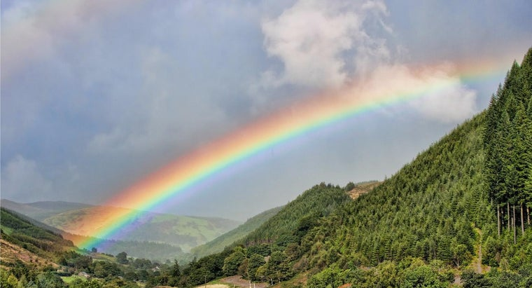 What Is the Biblical Meaning of Colors in the Rainbow? | Reference com