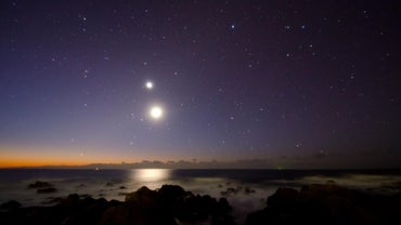 What Is the Bright Star Under the Moon?