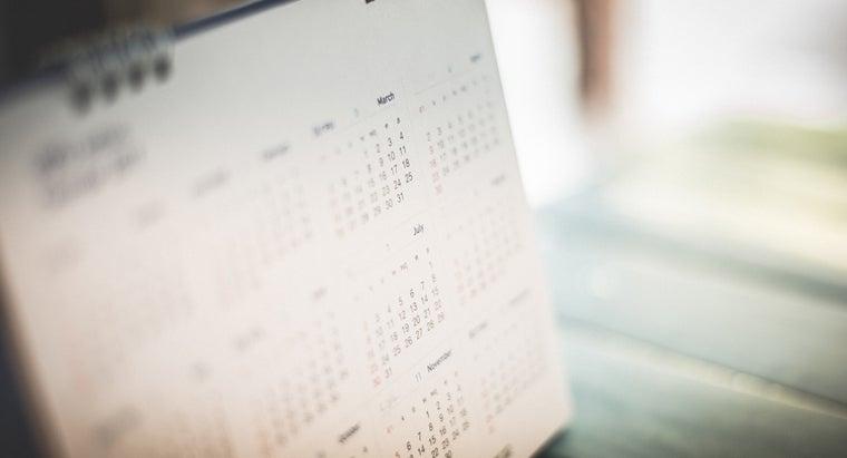 months-calendar-five-weeks