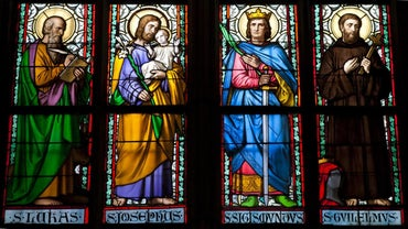 Where Can You Find Images of Saints?