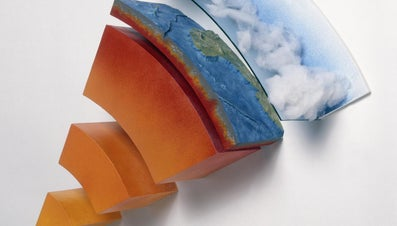 How Can One Identify the Layers of the Earth by Their Chemical Composition?