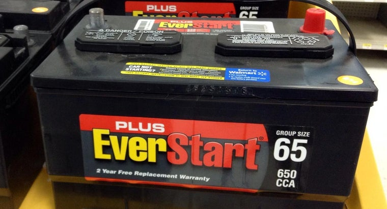 What Car Batteries Does Walmart Carry? | Reference com