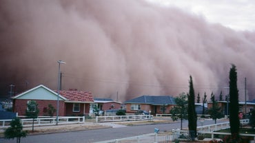 What Causes Dust Storms?