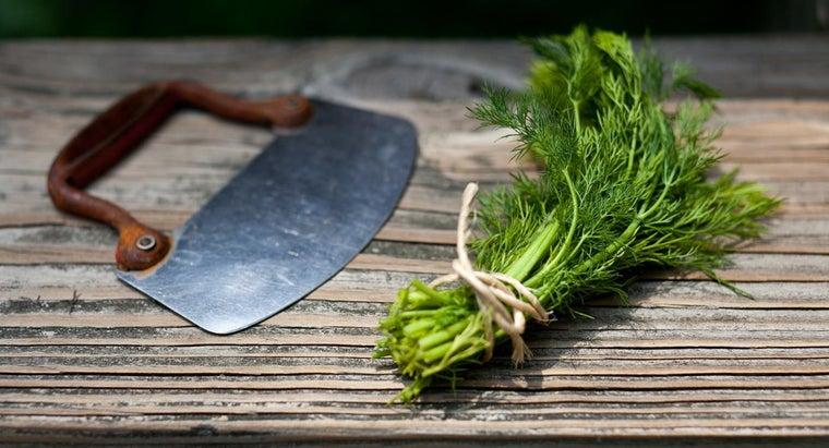 chop-fresh-dill
