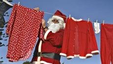 What Color Was Santa's Suit Originally?