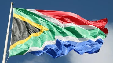 What Do the Colors on the South African Flag Mean?