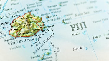On What Continent Is Fiji Located?