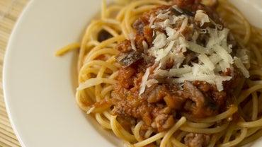 How Do You Cook Spaghetti?