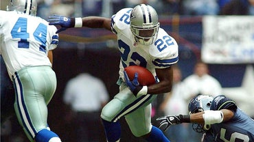 Who Did Emmitt Smith Break the All-Time Rushing Record Against?
