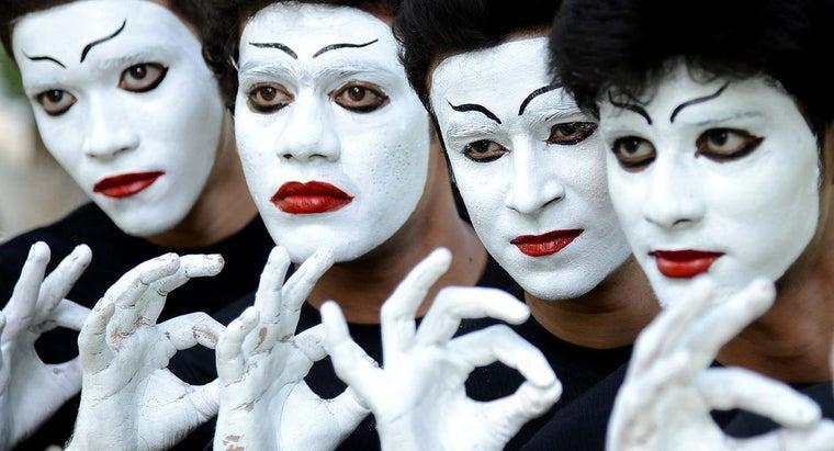did-mimes-originate