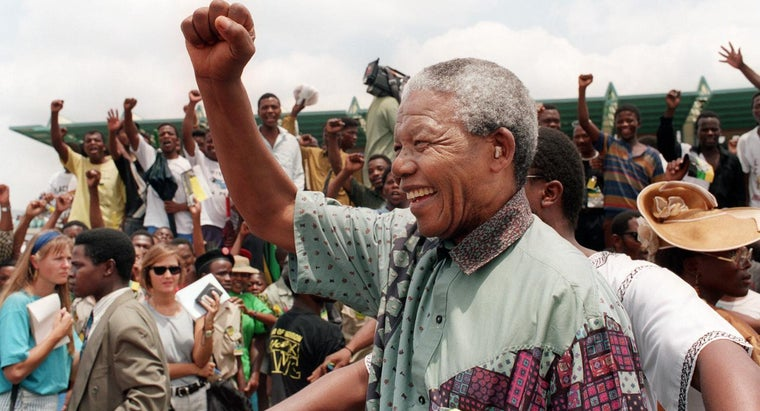 did-nelson-mandela-become-president