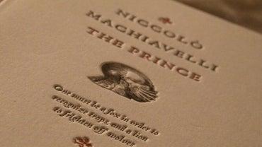 Why Did Niccolo Machiavelli Write The Prince?