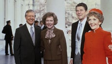 Who Did Ronald Reagan Run Against for His Presidential Campaigns?