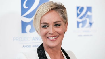 What Are Some Different Hairstyles Worn by Sharon Stone?