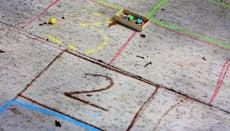 How Do You Draw a Hopscotch Board?