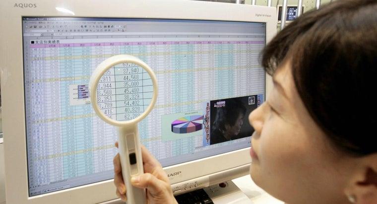 electronic-spreadsheet