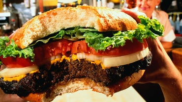 What Fast-Food Hamburger Has the Most Calories?