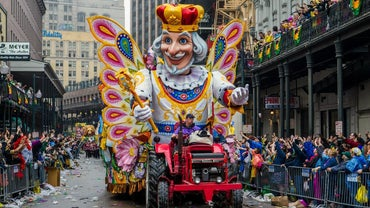 When Was the First Mardi Gras Parade in New Orleans?