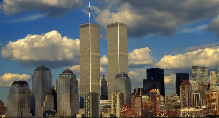 What Was the Height of the Twin Towers? | Reference com