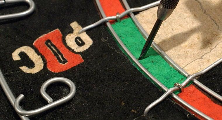 high-dart-board