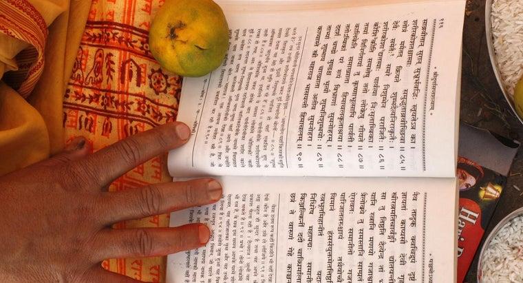 hindu-holy-book-called