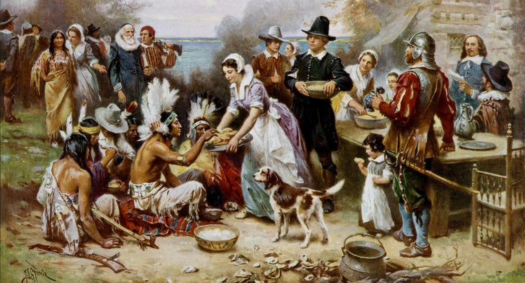 history-first-thanksgiving