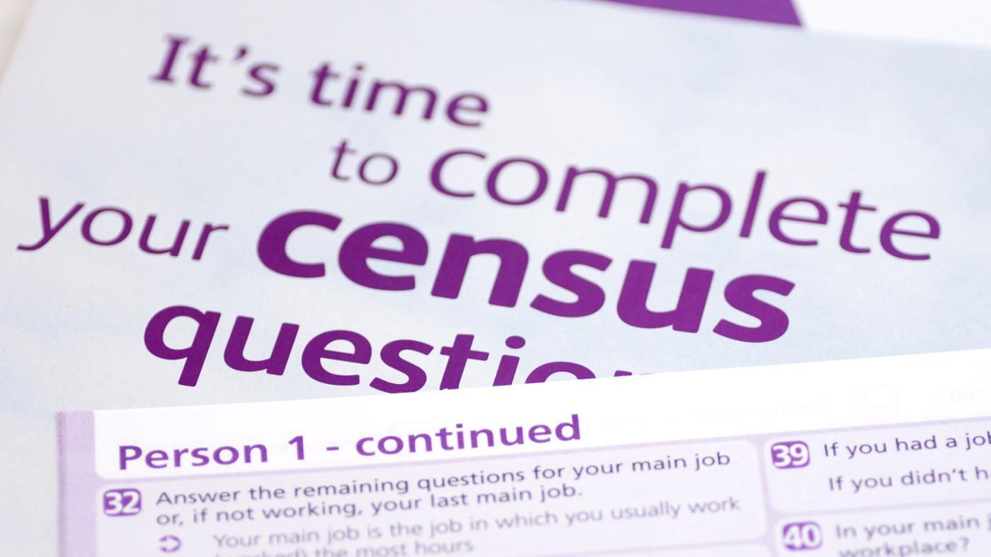 collect the population census reports from the website