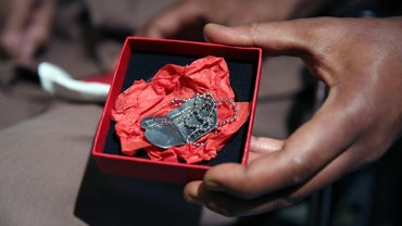 What Information Goes on Military Dog Tags?