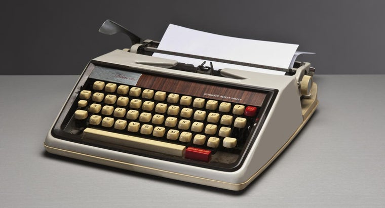 invented-typewriter