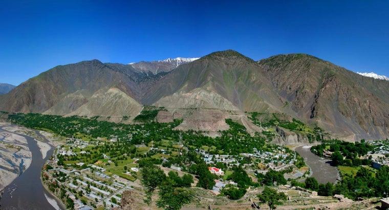 landforms-pakistan