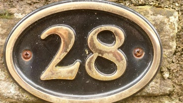 How Large Do House Address Numbers Need to Be on a House?
