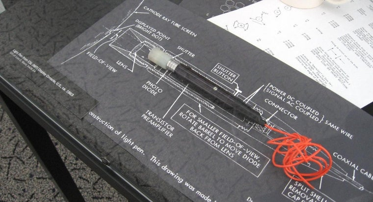 light-pens-used