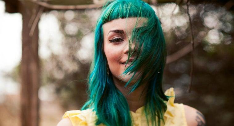 make-green-hair-dye