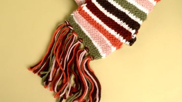 How Do I Make Tassels for a Scarf?