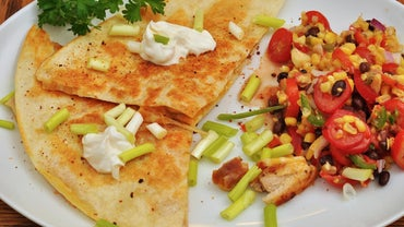 How Many Calories Do Chicken Cheese Quesadillas Have?