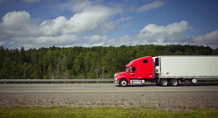 How Many Gallons Does a Semi Truck Hold? | Reference com