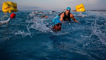 How Many Laps Is a Half-Mile Swim?