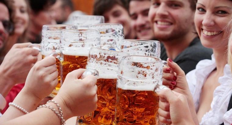 many-pitchers-beer-half-barrel
