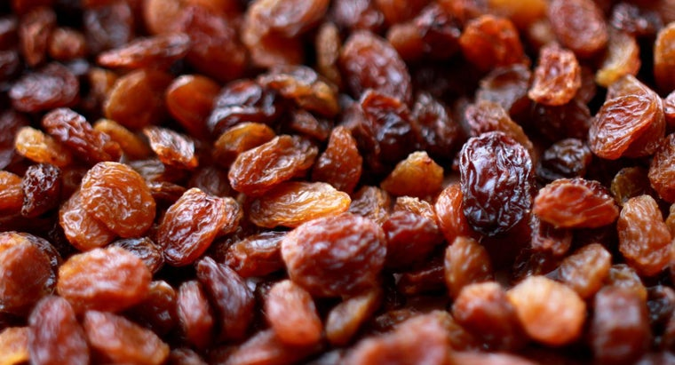 many-raisins-one-gram