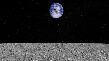 How Does the Moon's Diameter Compare With the Distance Between Earth and the Moon?
