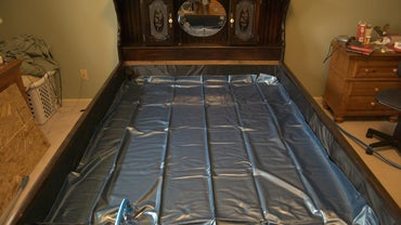 How Much Water Does a King-Size Waterbed Hold?