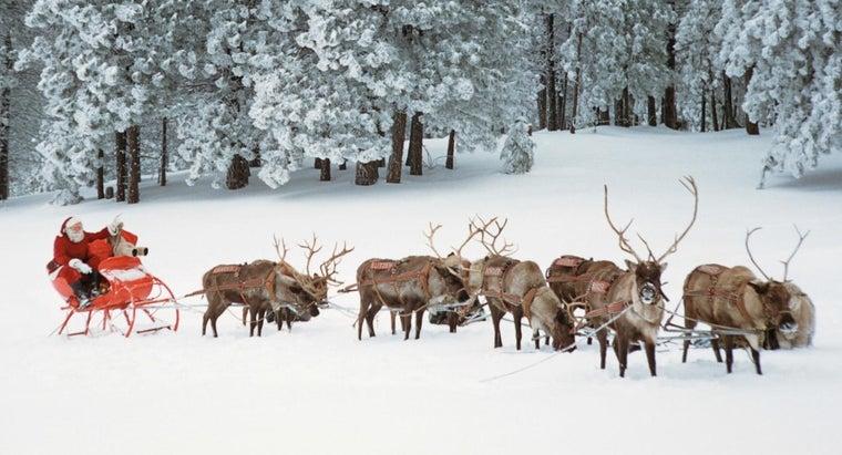 names-santa-claus-reindeer