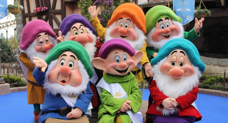 What Are the Names of Snow White's Seven Dwarfs? | Reference com